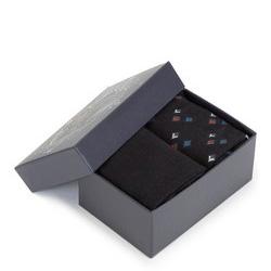 Zestaw skarpet męskich, czarny, 89-SK-002-X5-43/45, Zdjęcie 1