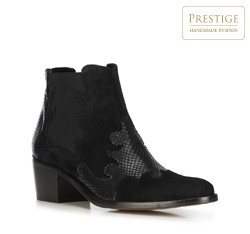 Women's ankle boots, black, 91-D-052-1-35, Photo 1