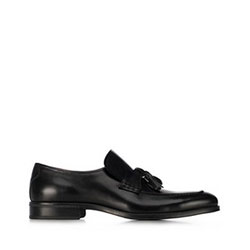 Men's loafers, black, 91-M-909-1-40, Photo 1