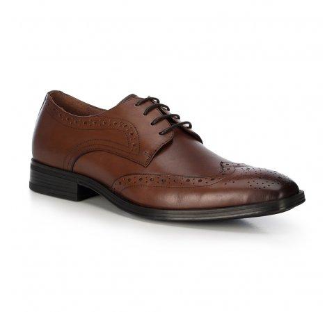 Мужские кожаные туфли 91-M-904-4