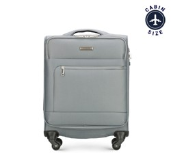 Small suitcase, grey, 56-3S-621-00, Photo 1