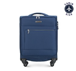 Small suitcase, navy blue, 56-3S-621-90, Photo 1