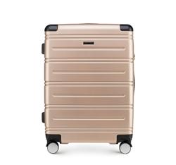 Średnia walizka, szampański, 56-3A-442-85, Zdjęcie 1