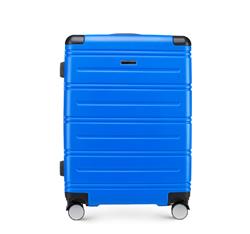 Średnia walizka, niebieski, 56-3A-442-90, Zdjęcie 1