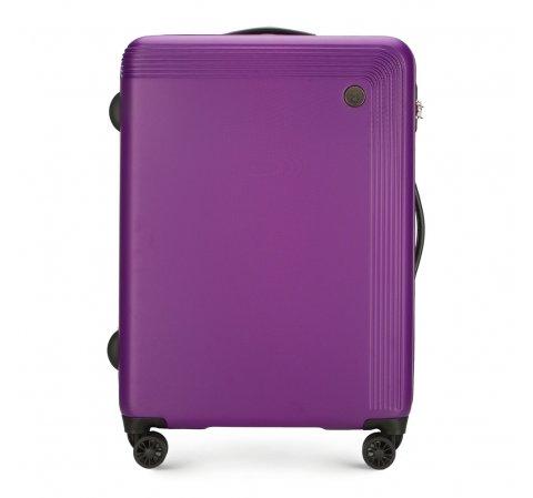 Średnia walizka, fioletowy, 56-3A-622-10, Zdjęcie 1