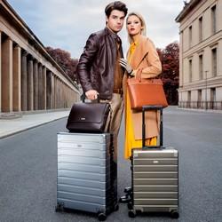 Medium suitcase, silver, 56-3H-102-12, Photo 1