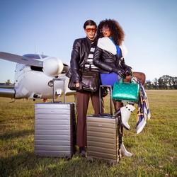 Medium suitcase, gold, 56-3H-102-86, Photo 1