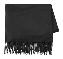 Women's scarf, black, 85-7D-X99-1, Photo 1
