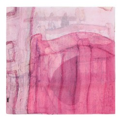 Szal damski, różowy, 86-7D-S40-X04, Zdjęcie 1