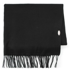 Women's scarf, black, 87-7D-X01-1, Photo 1