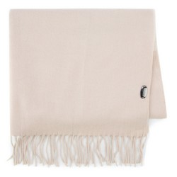 Women's scarf, ecru, 87-7D-X01-9, Photo 1