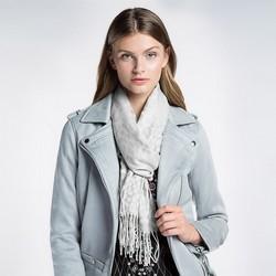 Women's scarf, silver, 87-7D-X04-X5, Photo 1