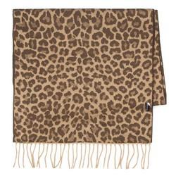 Women's scarf, brown, 87-7D-X04-X6, Photo 1