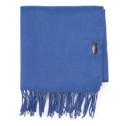 Women's scarf, blue, 87-7D-X06-N, Photo 1