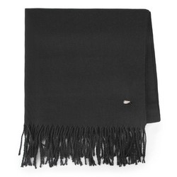 Women's scarf, black, 87-7D-X99-1, Photo 1