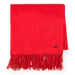 Women's scarf, red, 87-7D-X99-3, Photo 1