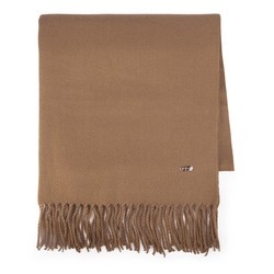 Women's scarf, brown, 87-7D-X99-5, Photo 1