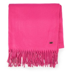 Women's scarf, pink, 87-7D-X99-P, Photo 1