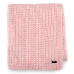 Women's scarf, light pink, 87-7F-016-P, Photo 1