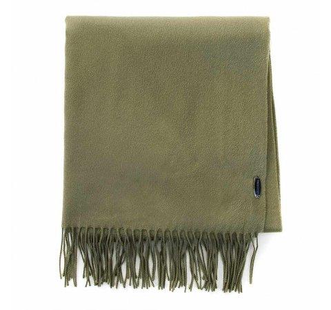 Damski szal klasyczny szeroki, khaki, 91-7D-X10-O, Zdjęcie 1