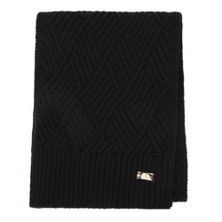 Women's scarf, black, 91-7F-003-1, Photo 1