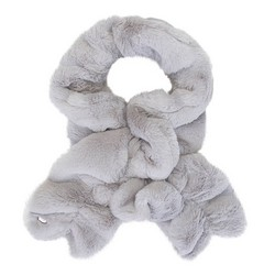 Women's scarf, grey, 91-7F-005-8, Photo 1