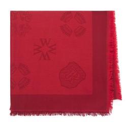 Scarf, dar red, 93-7F-008-2, Photo 1