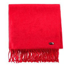 Women's scarf, red, 85-7D-X05-3, Photo 1