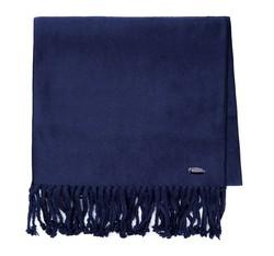 Women's scarf, navy blue, 85-7D-X05-7, Photo 1