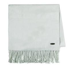 Women's scarf, grey, 85-7D-X05-8, Photo 1