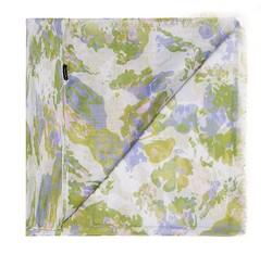 Szal damski, zielono - fioletowy, 85-7D-X03-X1, Zdjęcie 1