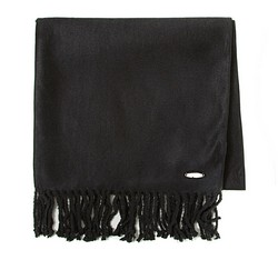 Women's scarf, black, 85-7D-X05-1, Photo 1