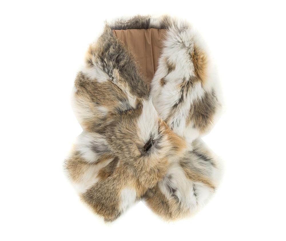 Шарф женскийРоскошный шарф из натурального кроличьего меха. Невероятно нежный на ощупь шарф  придаст каждой женщине чувством комфорта в холодную погоду.<br><br>секс: женщина<br>Цвет: бежевый<br>материал:: Мех шерстяной<br>высота (см):: 16