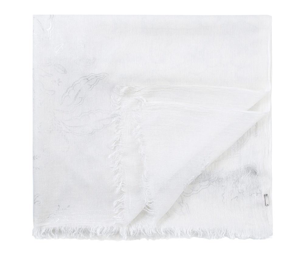 Шарф женскийШарф женский. Сделан из модала — этот мягкий материал, который обладает дышащими свойствами, очень приятный на ощупь. Отличный вариант для вечера. Такой шарф никогда не будет лишним в гардеробе и придаст образу совершенно новый вид.<br><br>секс: женщина<br>Цвет: белый<br>материал:: Целлюлоза<br>высота (см):: 84<br>ширина (см):: 208
