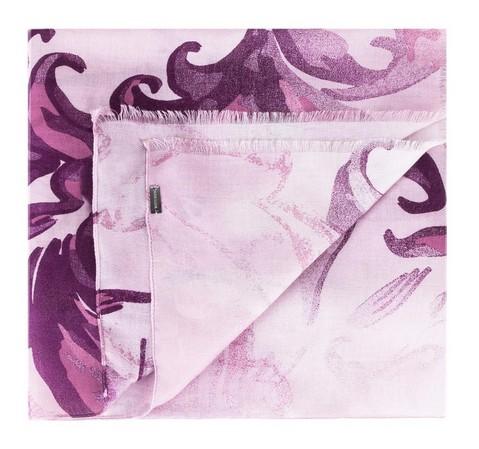 Szal damski, różowy, 83-7D-X04-8, Zdjęcie 1