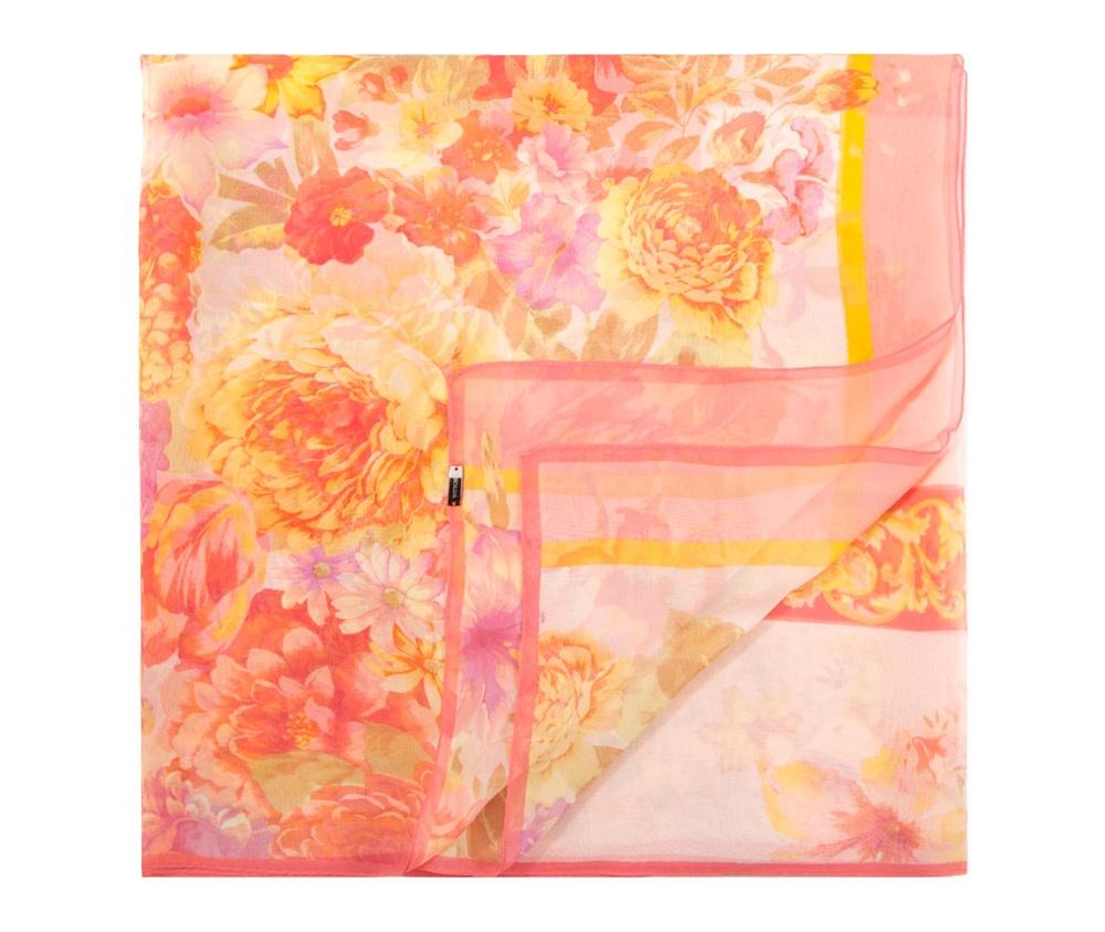 Платок женскийЖенская шаль выполнена из шелка с знаком наивысшего качества King Silk. Воздушный, полупрозрачный платок - это модный аксессуар, который будет отлично сочетаться с летними образами.<br><br>секс: женщина<br>Цвет: разноцветный<br>материал:: Шелк<br>высота (см):: 177<br>ширина (см):: 85