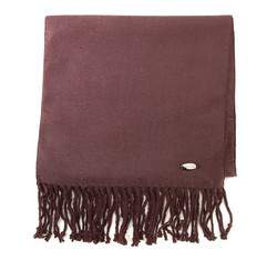 Women's scarf, dark brown, AP-7-037-13, Photo 1