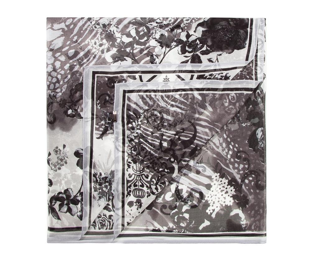 Платок женскийЖенская шаль выполнена из шелка с знаком наивысшего качества King Silk. Воздушный материал в сочетании с множеством разнообразных цветов делают эту модель, несомненно, привлекательной.<br><br>секс: женщина<br>Цвет: черный<br>материал:: Шелк