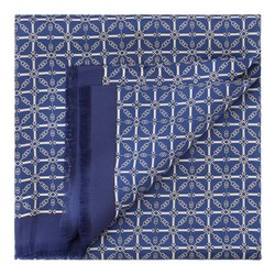 Men's scarf, navy blue, 86-7M-S40-X02, Photo 1