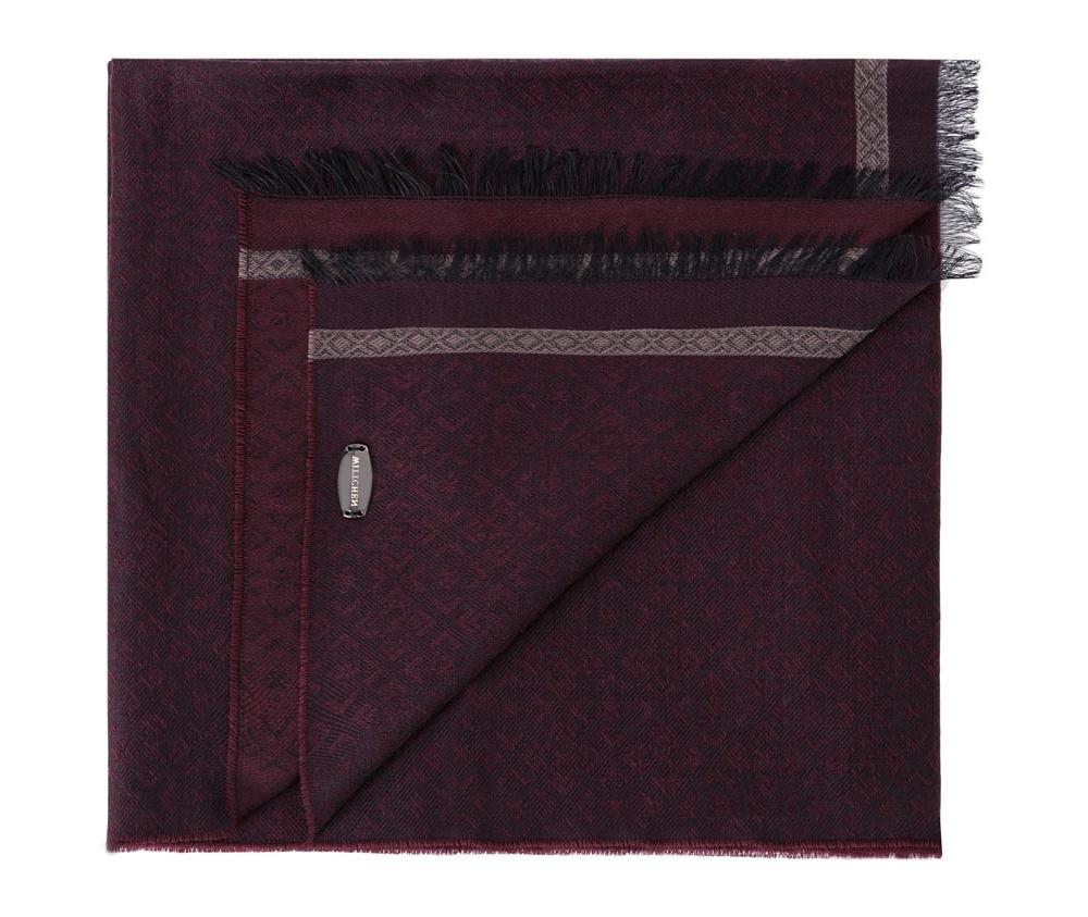 Шарф мужскойМужской шарф из шерсти и вискозы прекрасно дополнит элегантный мужской образ.<br><br>секс: мужчина<br>материал:: Шерсть<br>ширина (см):: 64