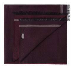 Szal męski, burgund, 83-7M-X04-2, Zdjęcie 1