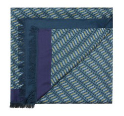 Men's scarf, blue, 85-7M-S42-X4, Photo 1