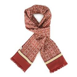 Men's scarf, burgundy, 88-7M-S41-X1, Photo 1