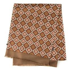 Men's scarf, brown, 90-7M-S40-X1, Photo 1