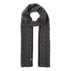Men's thin scarf, green - gray, 91-7M-X06-X1, Photo 1