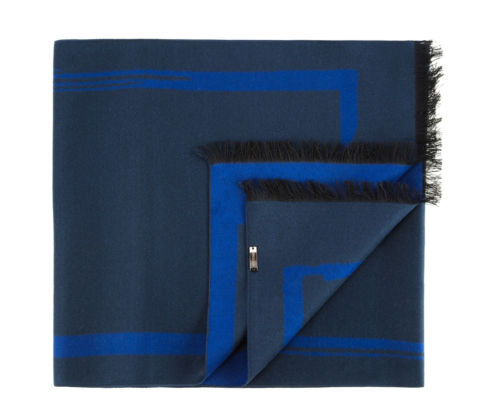 Шарф мужскойМужской шарф  из шелка с знаком наивысшего качества King Silk.Благородный материал обеспечивает комфорт и делает мужской образ более изящным и привлекательным.<br><br>секс: мужчина<br>Цвет: синий<br>материал:: Шелк<br>высота (см):: 178<br>ширина (см):: 31