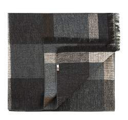 Men's scarf, black-grey, 83-7M-S40-X5, Photo 1