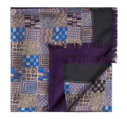 Men's scarf, violet, 83-7M-S41-X1, Photo 1