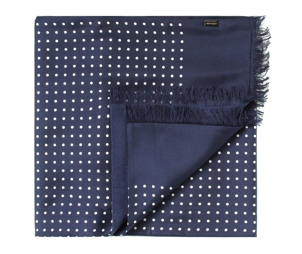 Шарф мужскойДвусторонний мужской шарф  из шелка с знаком наивысшего качества King Silk. Слегка глянцевый сторона с узором подойдет для менее обязывающего стиля, а однотонная сторона идеально сочетается с элегантным образом.<br><br>секс: мужчина<br>Цвет: синий<br>материал:: Шелк<br>высота (см):: 164<br>ширина (см):: 31