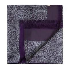 Men's scarf, violet-grey, 83-7M-S41-X7, Photo 1